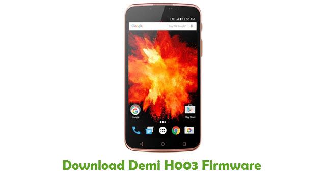 Download Demi H003 Stock ROM