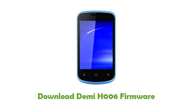 Demi H006 Stock ROM