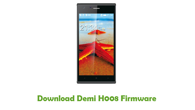 Download Demi H008 Stock ROM