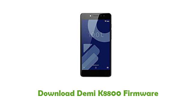 Demi K8800 Stock ROM