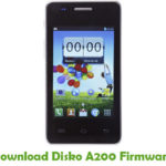 Disko A200 Firmware