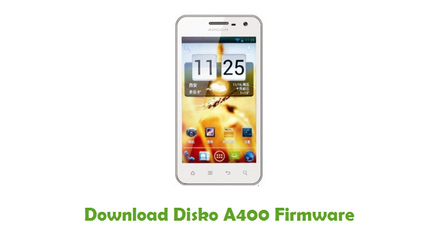 Download Disko A400 Stock ROM