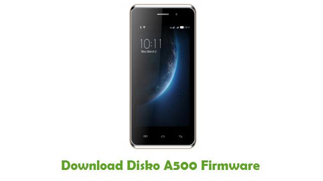 Download Disko A500 Stock ROM