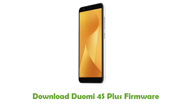 Download Duomi 4S Plus Stock ROM