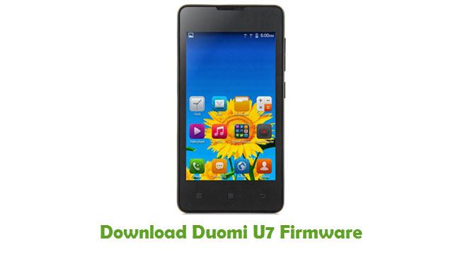 Download Duomi U7 Stock ROM