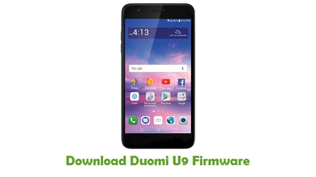 Duomi U9 Stock ROM