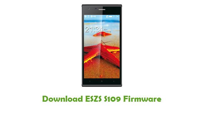 ESZS S109 Stock ROM
