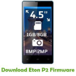 Eton P2 Firmware