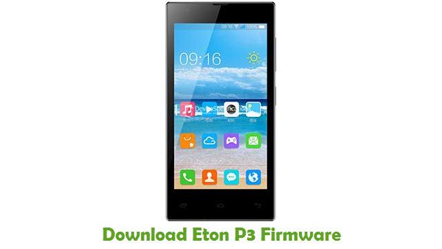 Download Eton P3 Stock ROM