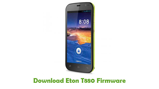 Download Eton T880 Stock ROM