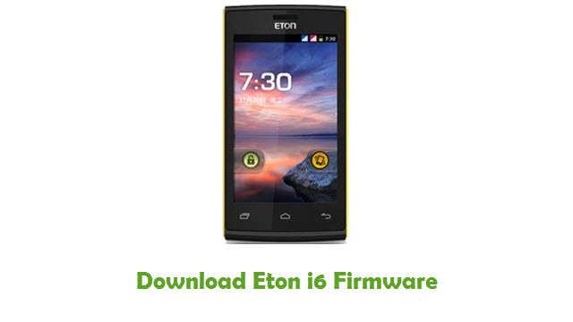 Download Eton i6 Stock ROM