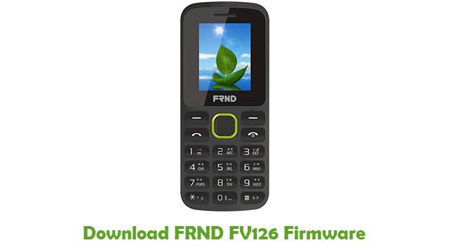 Download FRND FV126 Stock ROM