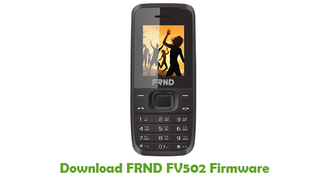 FRND FV502 Stock ROM