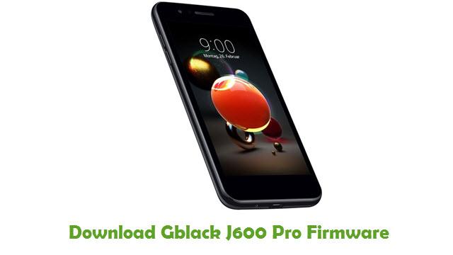 Download Gblack J600 Pro Stock ROM