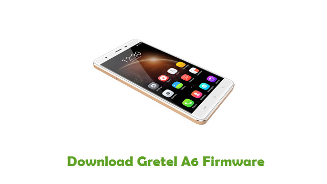 Gretel A6 Stock ROM