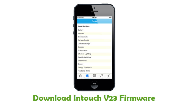 Intouch V23 Stock ROM