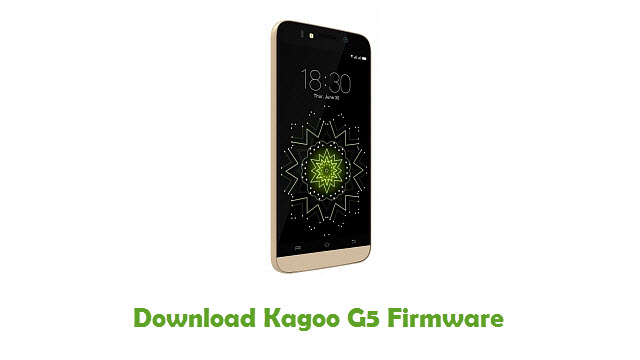 Download Kagoo G5 Firmware