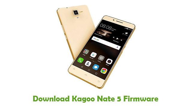 Download Kagoo Nate 5 Firmware