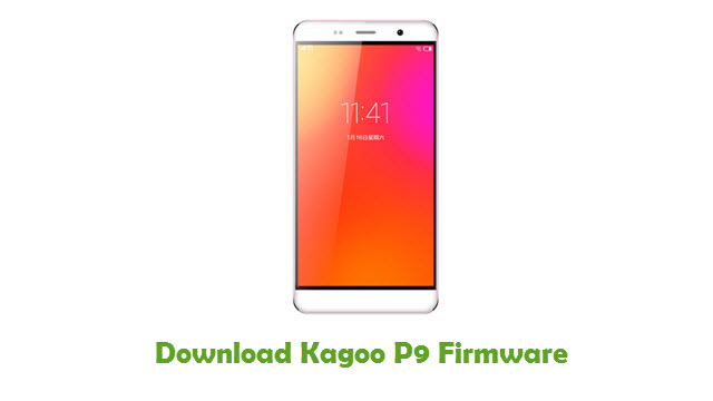 Download Kagoo P9 Firmware