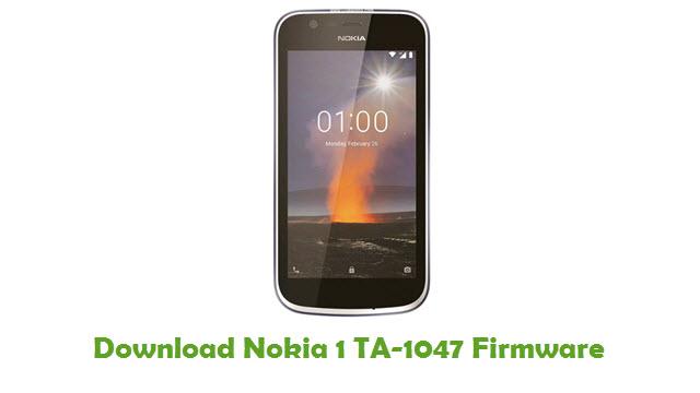 Nokia 1 TA-1047 Stock ROM