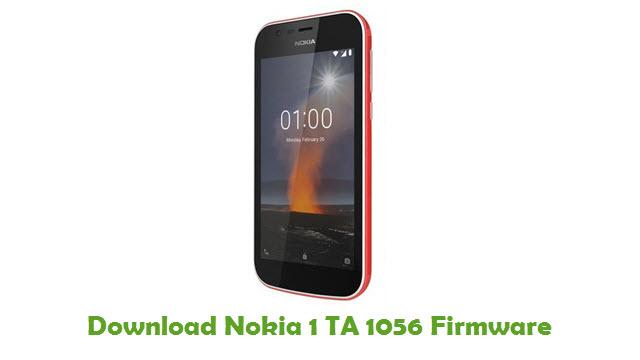 Nokia 1 TA 1056 Stock ROM