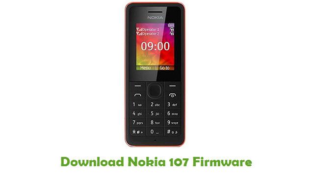 Nokia 107 Stock ROM