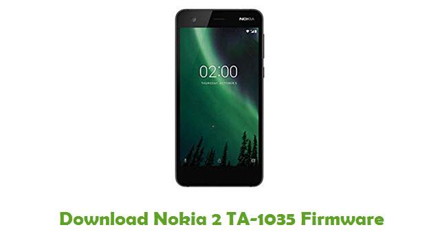 Download Nokia 2 TA-1035 Stock ROM