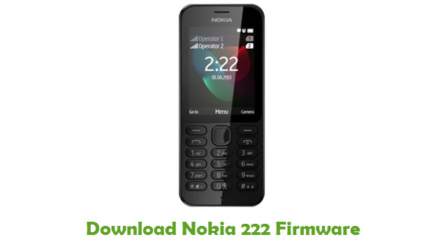 Download Nokia 222 Stock ROM