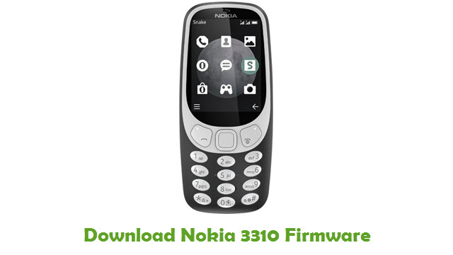 Download Nokia 3310 Stock ROM
