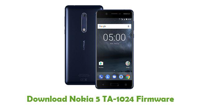 Download Nokia 5 TA-1024 Stock ROM