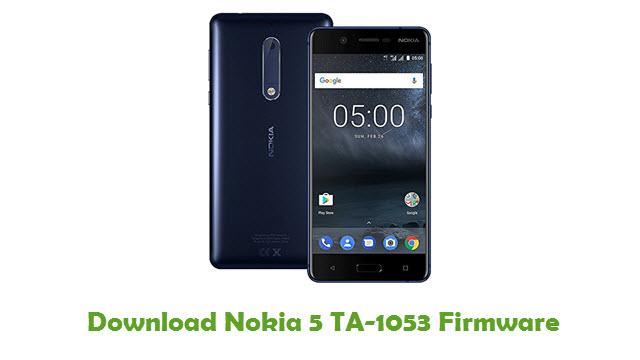 Download Nokia 5 TA-1053 Stock ROM
