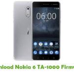 Nokia 6 TA-1000 Firmware