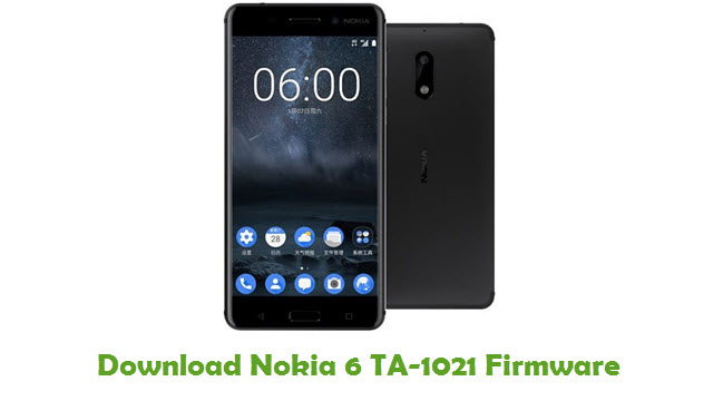 Download Nokia 6 TA-1021 Stock ROM
