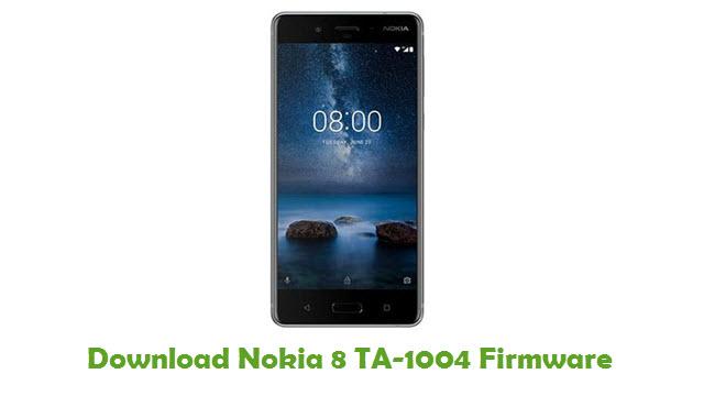 Download Nokia 8 TA-1004 Stock ROM