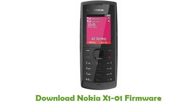 Download Nokia X1-01 Stock ROM