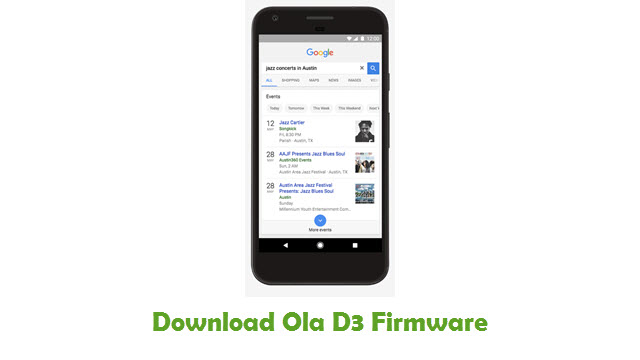 Download Ola D3 Firmware