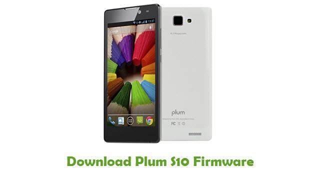 Download Plum S10 Firmware