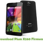 Plum X260 Firmware