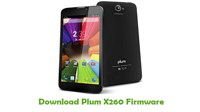 Plum X260 Stock ROM