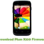 Plum X350 Firmware