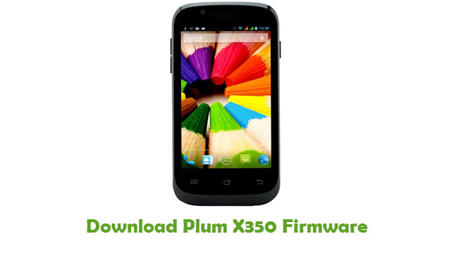 Download Plum X350 Firmware