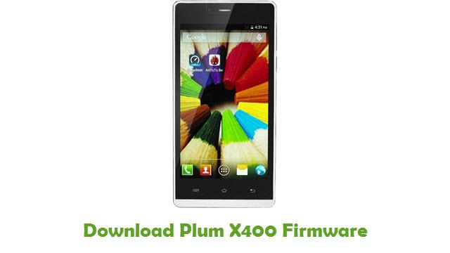 Plum X400 Stock ROM
