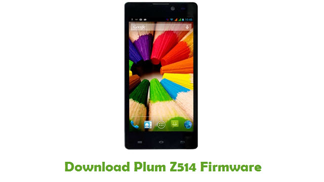 Plum Z514 Stock ROM