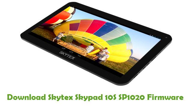 Skytex Skypad 10S SP1020 Stock ROM