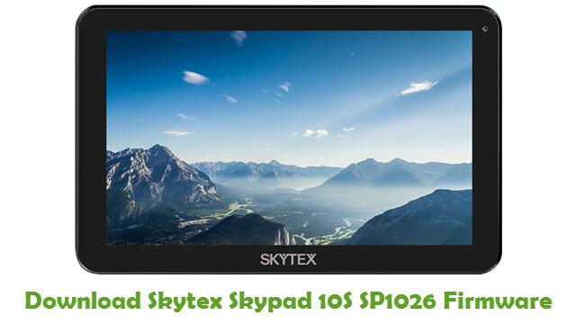 Skytex Skypad 10S SP1026 Stock ROM