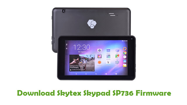 Skytex Skypad SP736 Stock ROM