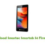 Smartec Smartab S4 Firmware