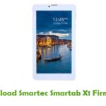 Smartec Smartab X1 Firmware