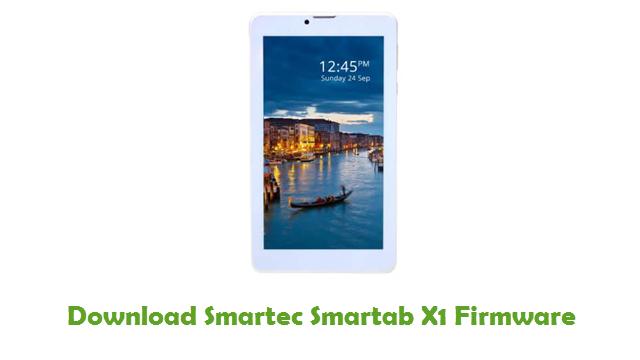 Download Smartec Smartab X1 Firmware