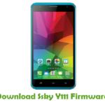 Ssky Y111 Firmware